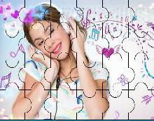 Puzzle con Violetta