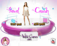 Violetta jewel crash