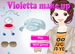 Violetta makeup